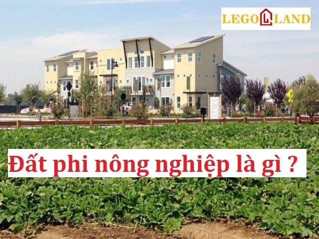 Đất phi nông nghiệp là gì ? Đất này có xây được nhà không ?