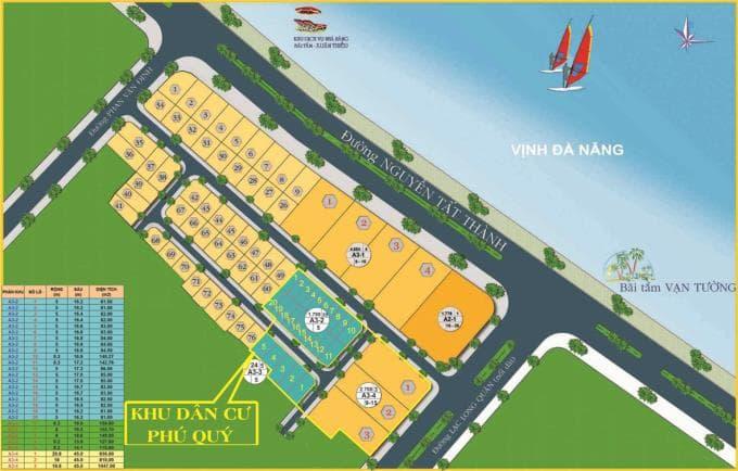 Khu dân cư Phú Quý – Khu đô thị xanh ven biển tuyển đẹp