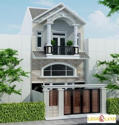 mẫu 7 nhà 2 tầng giá 300 triệu ở nông thôn