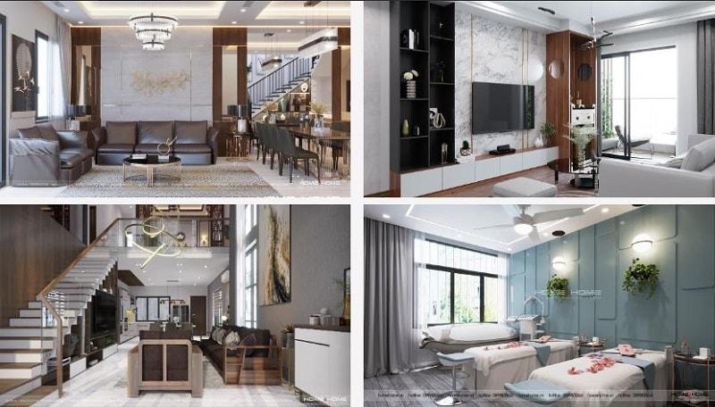 Công ty thiết kế Nội thất chung cư Home&Home