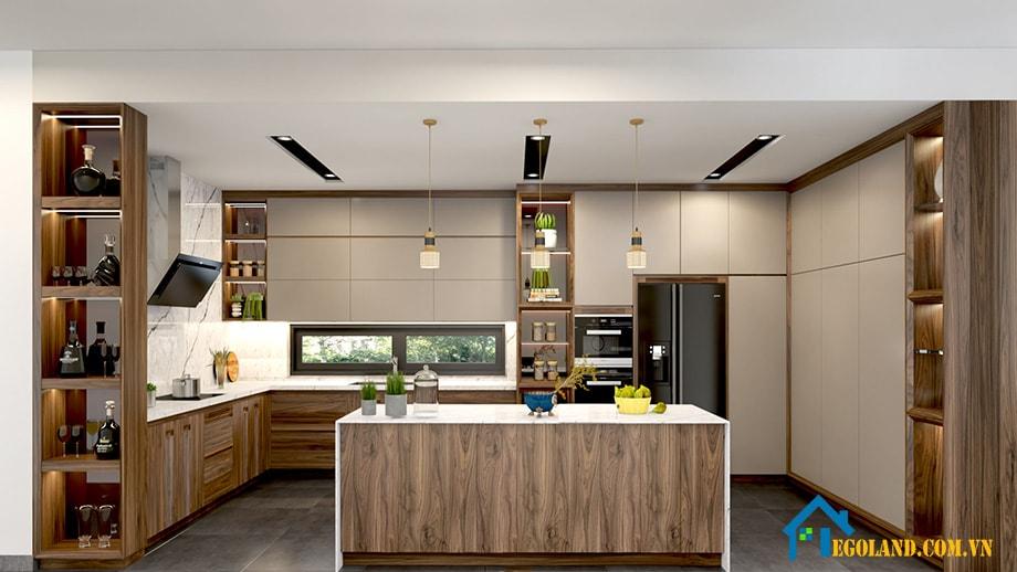 Mẫu 2 phòng bếp cho chung cư đẹp