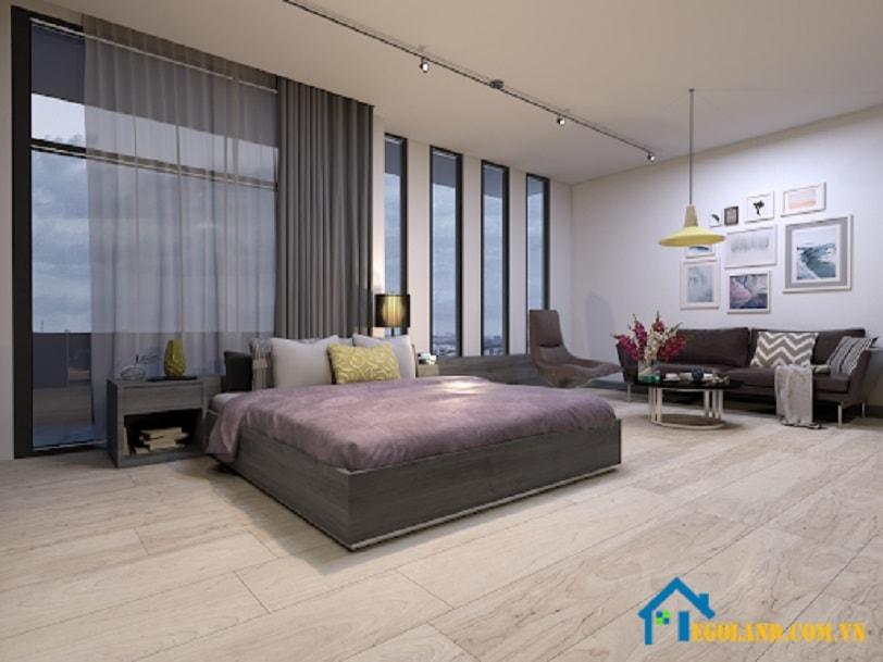 Mẫu 1 phòng ngủ cho chung cư đẹp
