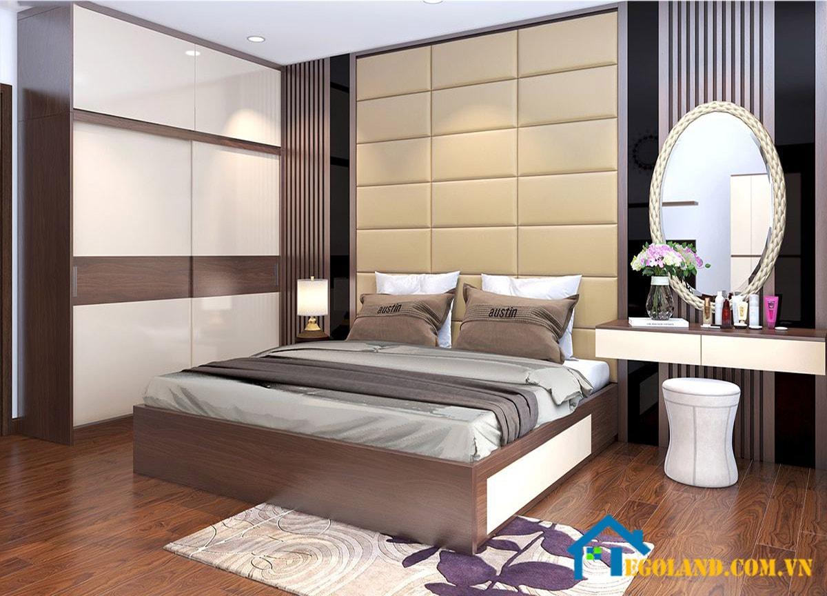 Mẫu 2 phòng ngủ cho chung cư đẹp