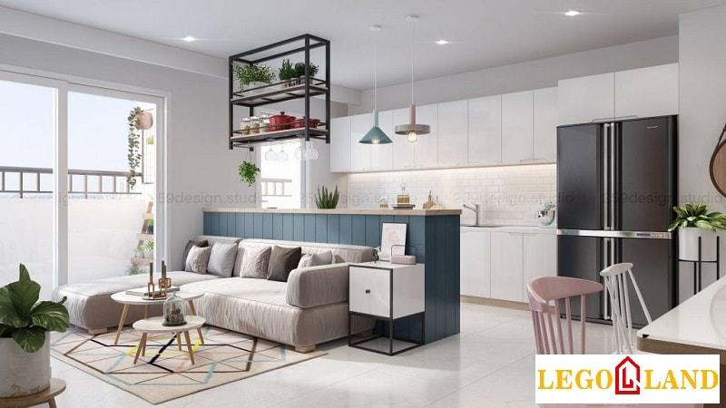 Thiết kế của căn hộ dịch vụ mang sự tinh tế, độc đáo