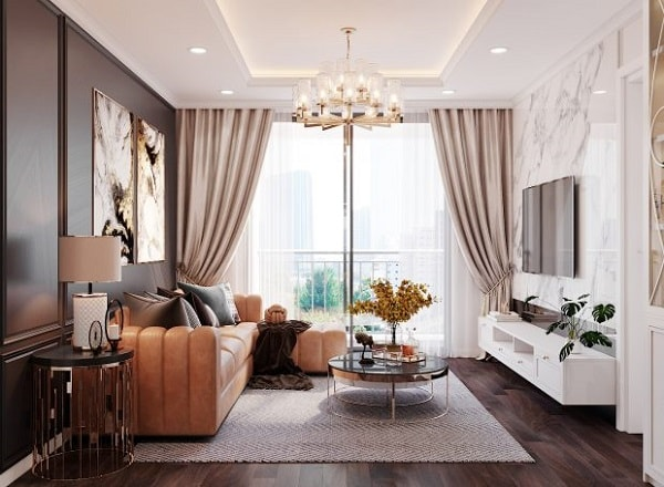 Thiết kế nội thất chung cư Gia Vũ