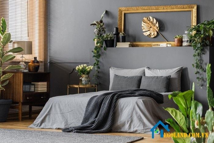 Trang trí phòng ngủ theo hơi hướng hoài cổ, truyền thống với nội thất gỗ