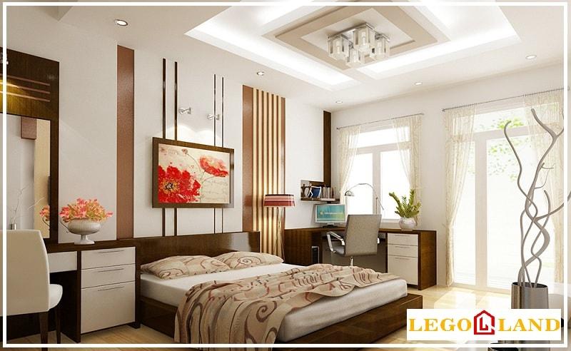 Mẫu trần thạch cao dành cho phòng ngủ