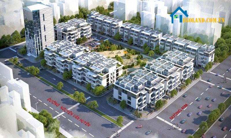 Dự án Liền kề H36 Lạc Long Quân - biệt thự liền kề tại Hà Nội giá rẻ