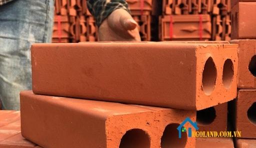 Gạch xây tường 2 lỗ