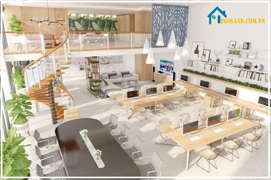 Không gian văn phòng và nhà ở hiện đại, đẳng cấp