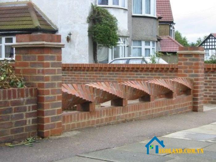 Mẫu tường rào kiểu xoắn ốc