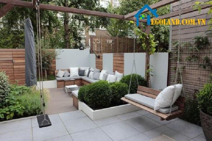 Tìm hiểu những mẫu thiết kế sân vườn hiện đại
