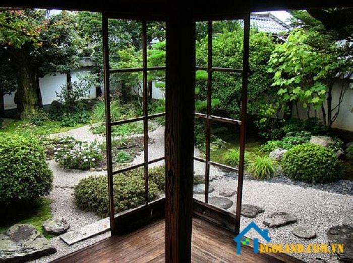 Tham khảo phong cách vườn Nhật Bản