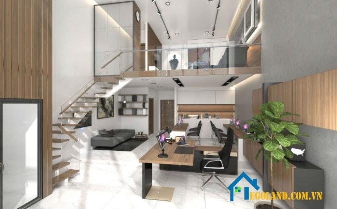 Thiết kế độc đáo, ấn tượng của căn hộ Officetel