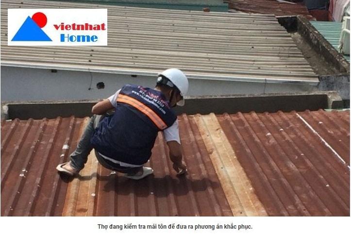 làm mái tôn tại TP Hồ Chí Minh - Việt Nhật Home