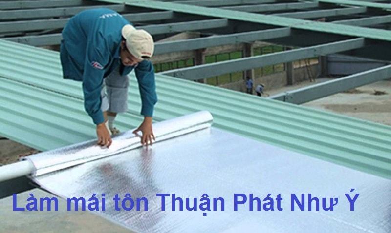 làm mái tôn tại TP Hồ Chí Minh - Thuận Phát Như Ý
