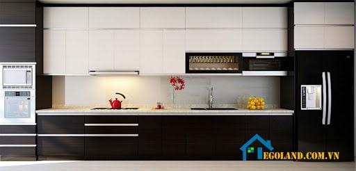 Hình ảnh thực tế thiết kế tủ bếp inox được chúng tôi chụp lại