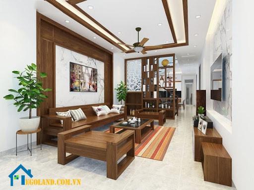 Phong cách thiết kế nội thất phòng khách