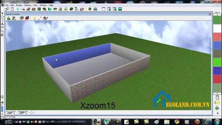 Sử dụng phần mềm Super Home Suite thiết kế nhà 3D