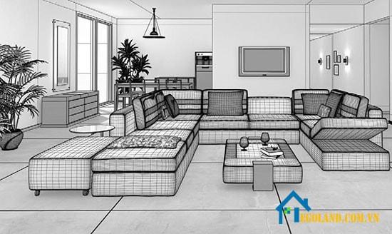 Thực hiện thiết kế nội thất