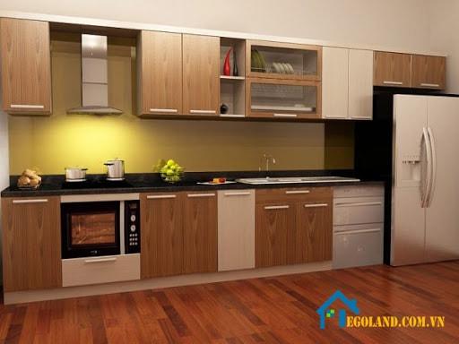tủ bếp gỗ công nghiệp 2