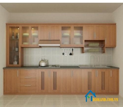 tủ bếp gỗ công nghiệp 8
