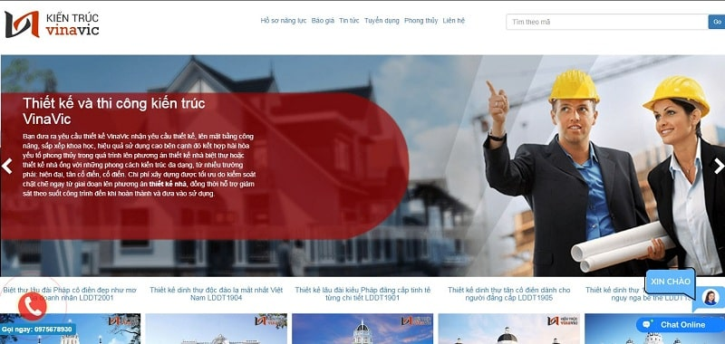 Công ty cổ phần kiến trúc VINAVIC