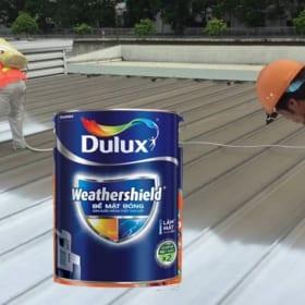 Chống nóng mái tôn với sơn Dulux