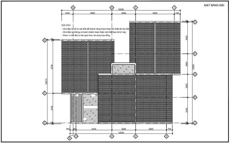Bản vẽ biệt thự 400m2-4