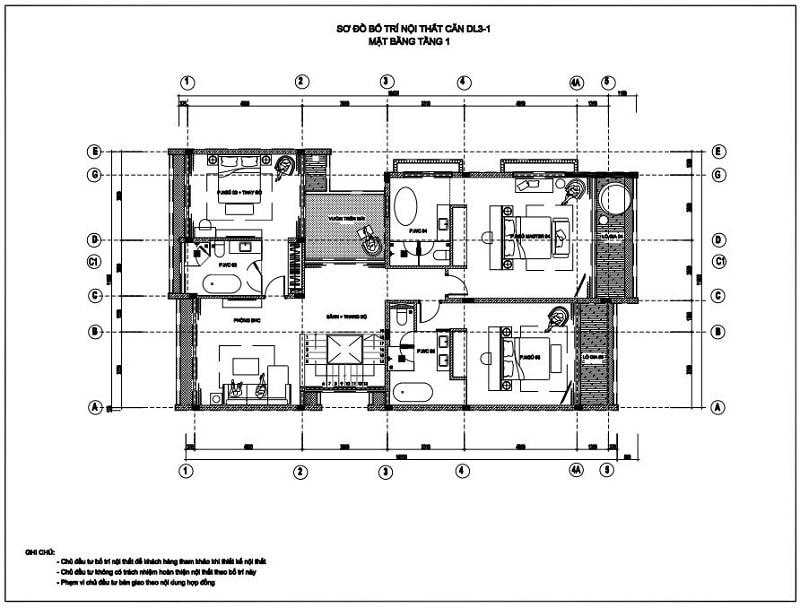 Biệt thự đơn lập 413m2 -1