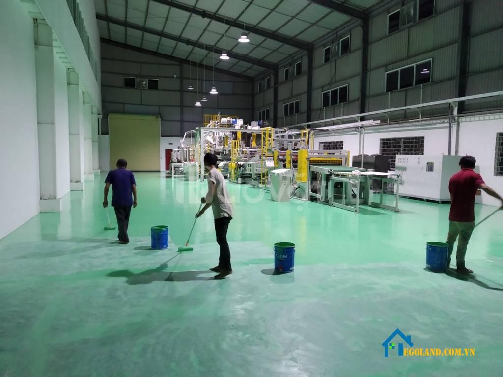 Công ty sơn epoxy hệ lăn Hoàng Khang