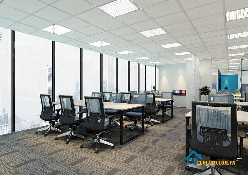 thiết kế nội thất văn phòng An Việt