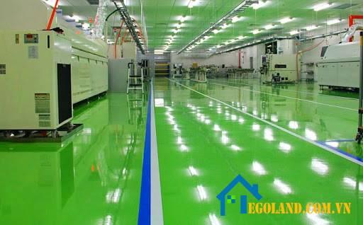 Sử dụng sơn epoxy chống tĩnh điện - Công ty xây dựng Xuân Thành