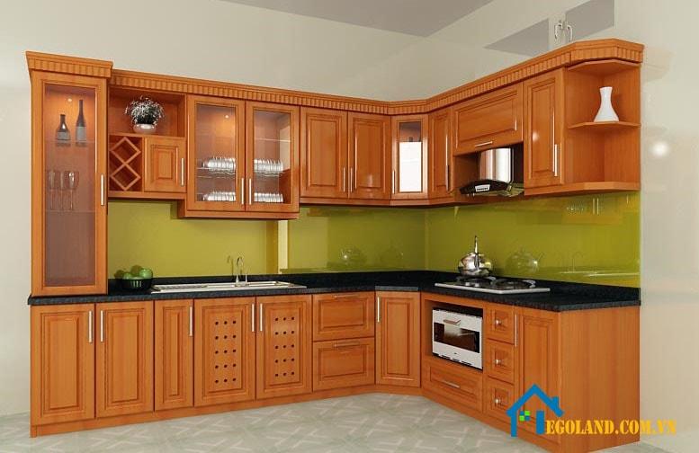 Đơn vị thiết kế tủ bếp đẹp Morehome