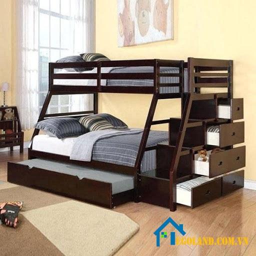 Giường ngủ 3 tầng đa năng