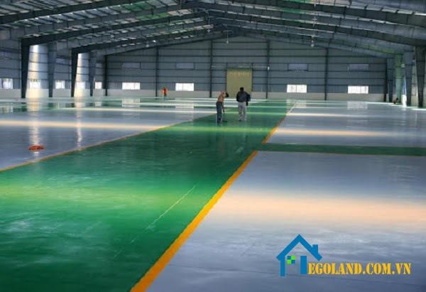 Sơn nền nhà xưởng giúp bảo vệ công trình của bạn.