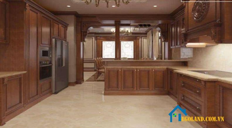 Thiết kế tủ bếp Hoàng Gia