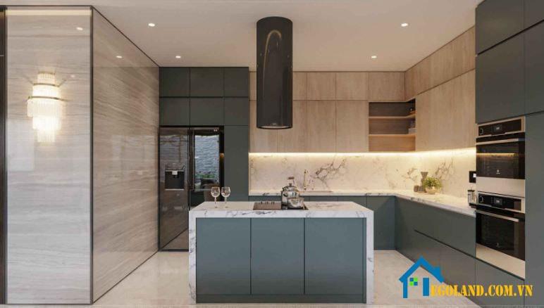 Thiết kế tủ bếp giá rẻ tại Landmax