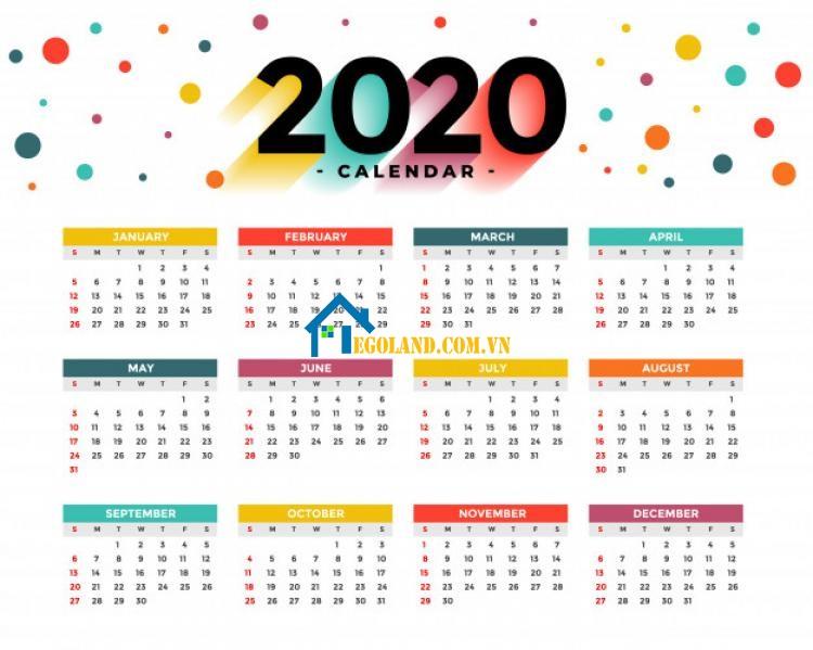 Trung bình một năm sẽ có tổng cộng 365 - 366 ngày