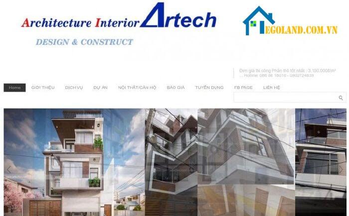 Artech - Công ty xây nhà trọn gói tại TP. Hồ Chí Minh