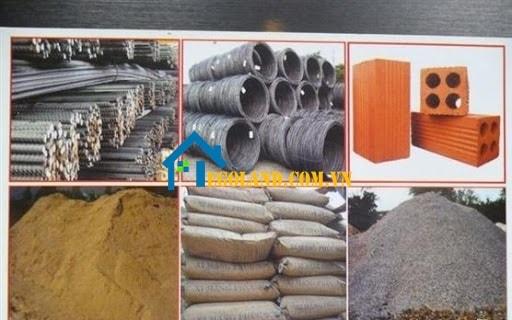 Các loại vật liệu xây dựng phổ biến