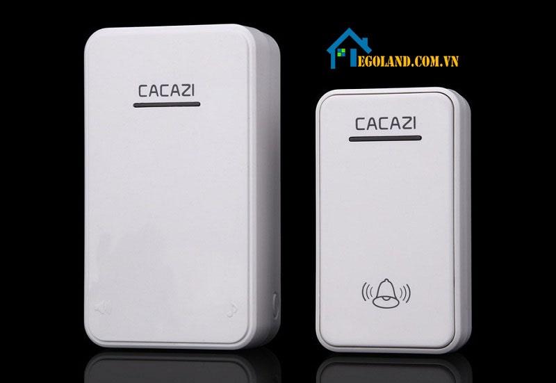 Chuông cửa không dây Cacazi A8 được thiết kế với kiểu dáng sang trọng