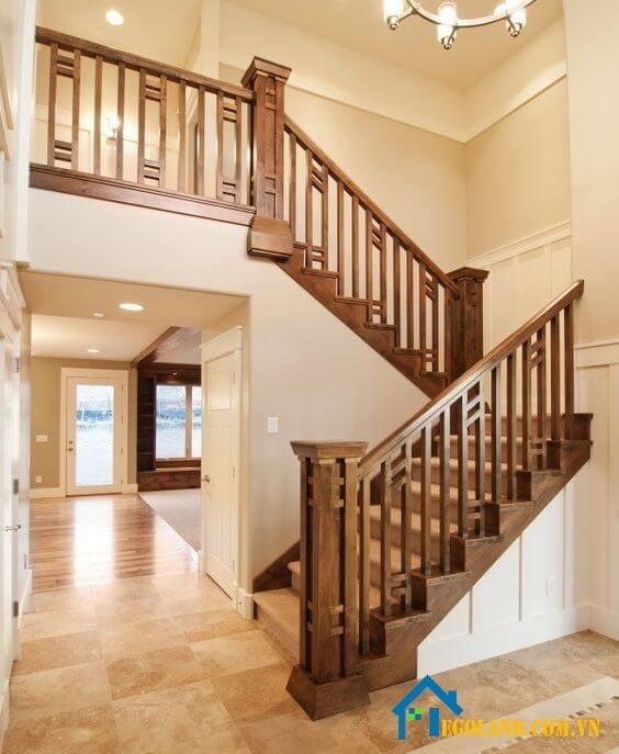 Có nhiều mẫu cầu thang gỗ cho bạn lựa chọn