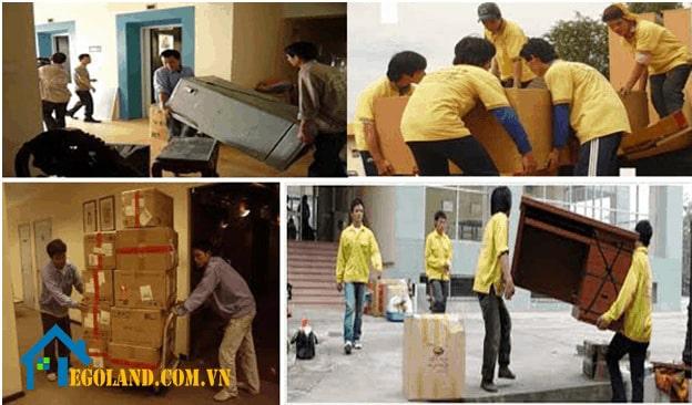 Dịch vụ chuyển nhà trọn gói tại Hà Nội của công ty Đại Đoàn