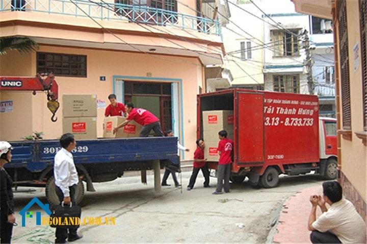 Dịch vụ chuyển nhà trọn gói Taxi tải Thành Hưng 1-min