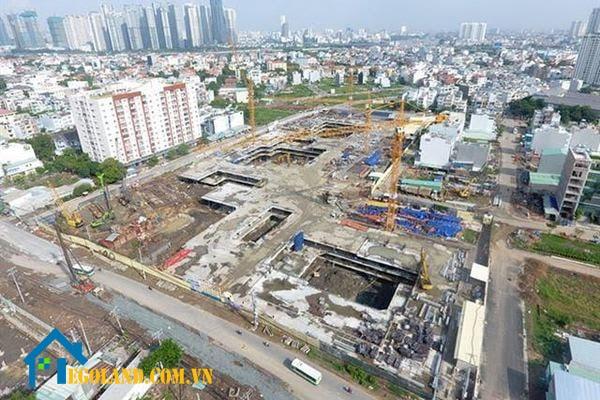 Đối với các công trình dịch vụ đô thị thì mật độ xây được quy định dựa trên vị trí và giải pháp quy hoạch
