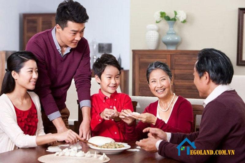 Kinh nghiệm xây nhà là xác định quy mô gia đình