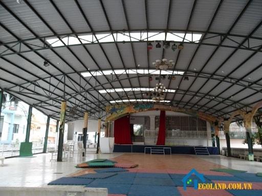 Mái vòm đẹp cho không gian sinh hoạt ở chùa chiền