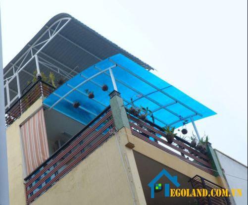Mái vòm cho sân thượng