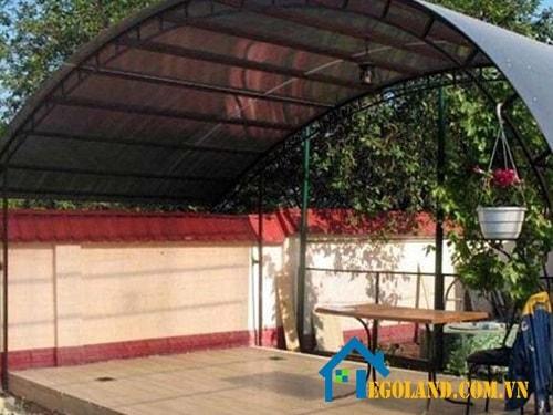 Mái vòm cho sân vườn-min